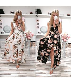 Květované šaty ERICA LONG