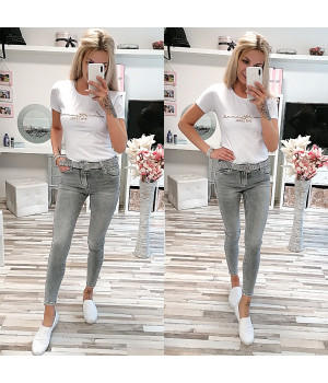 Kalhoty SARA PUSH-UP CLASSIC