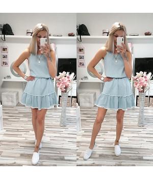 Džínové šaty ALICIA STYLE