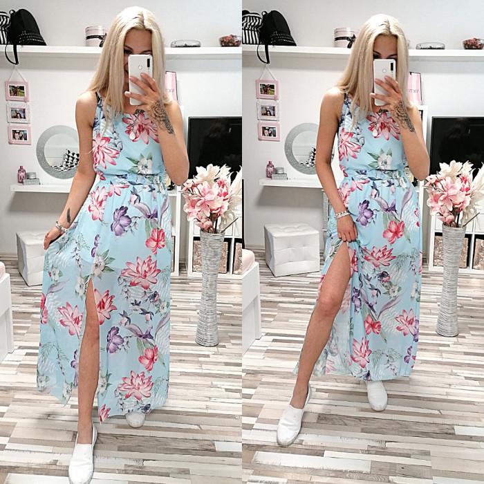 Květované šaty ILARIA STYLE