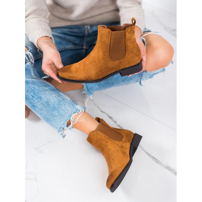 Dámské kotníkové boty IDEAL SHOES - 8310