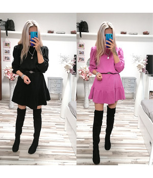 Teplejší šaty AMANDA