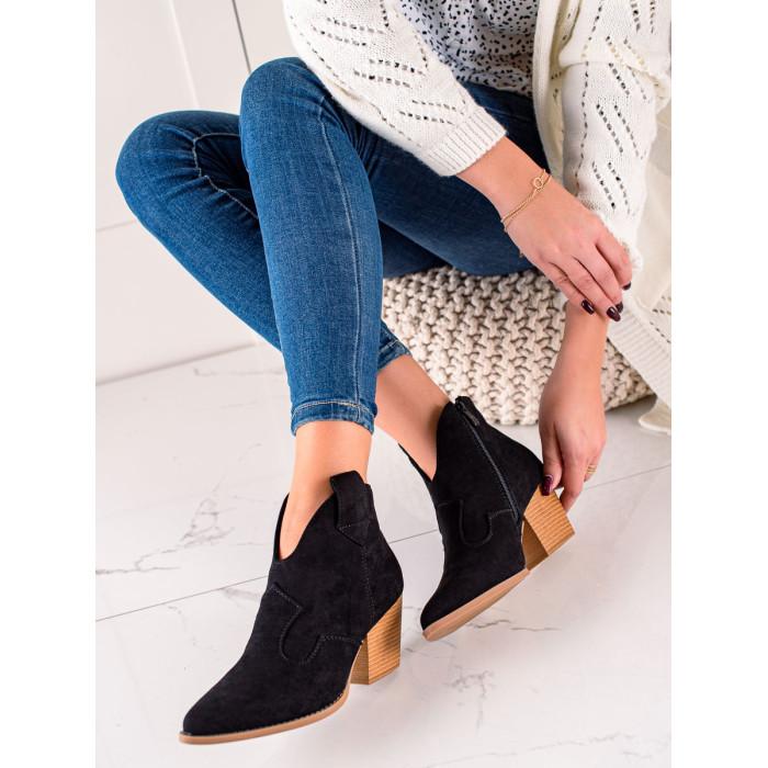 Dámské kotníkové boty LUCKY SHOES - T221