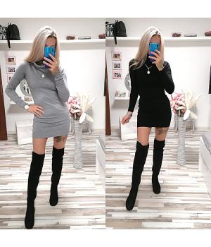 Rolákové šaty BASIC STYLE