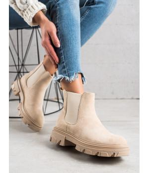 Dámské kotníkové boty TRENDI - F10