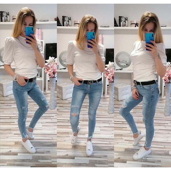 Kalhoty JESSI PUSH-UP