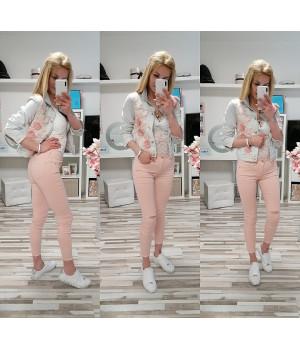 Kalhoty RICO STYLE PINK